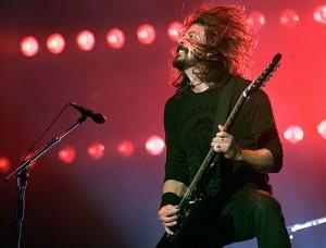 В Новой Зеландии произошло землетрясение из-за Foo Fighters