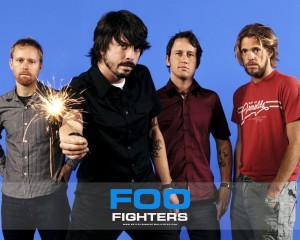 Фанаты организовали концерт Foo Fighters